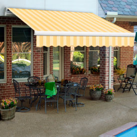 """Awntech MTR20-545-ALM, Retractable Awning Right Motor 20'W x 10'D x 10""""H Almond"""