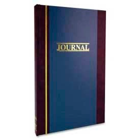 """Wilson Jones® Account Journal, Single Entry Ledger, 7-1/4"""" x 11-3/4"""", Blue Cover, 150 Pages/Pad"""