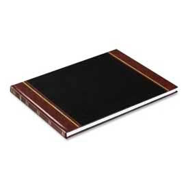 """Wilson Jones® Visitors Register Book, 8-1/2"""" x 11-1/2"""", Red Hardcover, 112 Pages/Book"""