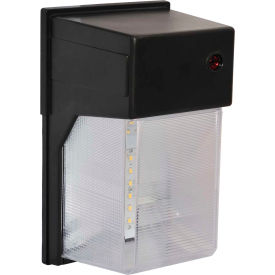 Amax Lighting LED-SL27BZ LED Security Light Wall Pack, 27W, 4000 CCT, 2240 Lumens, 82 CRI, Bronze