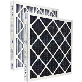 """Airex® 15"""" x 20"""" x 2"""" Carbon Combo Pleated Filter, MERV 8, High Quality  - Pkg Qty 12"""