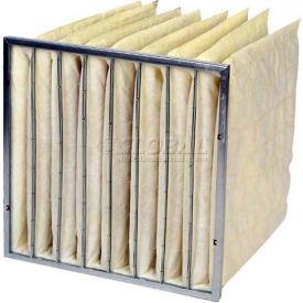 "Airex; 24""x24""x36"" Multi-Pocket Bag Filter, 8-Pocket Polyester Enviro-Pak, 65% Efficiency, High Qual"