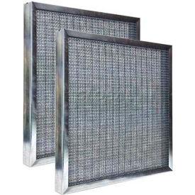 "Airex® 20"" x 20"" x 1"" Medium Duty Aluminum or Galvanized Metal Filter, High Quality - Pkg Qty 6"
