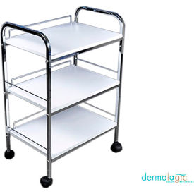 AYC Group Baylor Salon Beauty Trolley - White