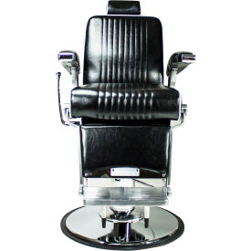 AYC Group Kennedy Barber Chair - Vinyl - Black