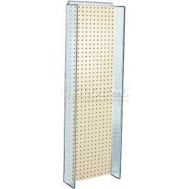 "Azar Displays 700350-ALM Pegboard Powering, 13.75"" x 44"", Almond ,1 Piece"