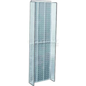 "Azar Displays 700350-CLR Pegboard Powering, 13.75"" x 44"", Clear ,1 Piece"