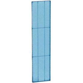 "Azar Displays 771360-BLU Pegboard Wall Panel, 13.5"" x 60"", Blue Opaque , 2-Pack"