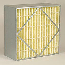 "Purolator® 5360702453 AERO-CELL® Rigid Box Filter 12""W x 24""H x 6""D - Pkg Qty 4"