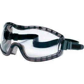 MCR Safety 2310AF Stryker™ Premium Safety Goggle, Clear Anti-Fog Lens, Indirect Vent