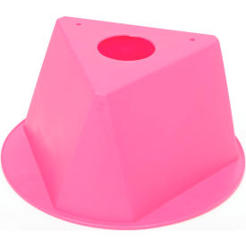 Inventory Cone Hot Pink 3-Sided