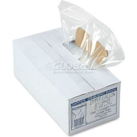 "Resealable 1 Gallon Storage Bags 10-1/2"" x 11"" 250 Pack Clear"