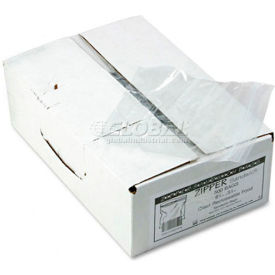 "Resealable Sandwich Bags 6-1/2"" x 5-7/8"" 1.15 Mil 500 Pack"