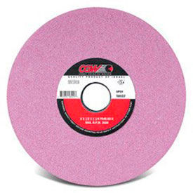 "CGW Abrasives 58038 Pink Surface Grinding Wheels, R/1-7 1/2 X 1/2 12"" 46 Grit Aluminum Oxide - Pkg Qty 2"