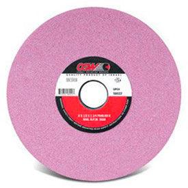 "CGW Abrasives 58046 Pink Surface Grinding Wheels, R/2-8 x 3/8 14"" 46 Grit Aluminum Oxide"