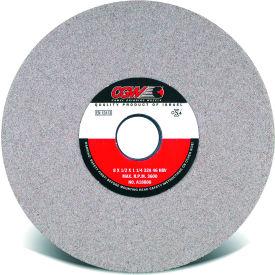 "CGW Abrasives 37709 Centerless Grinding Wheel 8"" x 1/2"" x 1-1/4"" Type 1 46 Grit Aluminum Oxide - Pkg Qty 10"