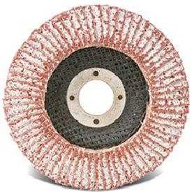 """CGW Abrasives 43084 Abrasive Flap Disc 4-1/2"""" x 7/8"""" 60 Grit Aluminum - Pkg Qty 10"""