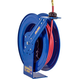 "Coxreels EZ-SH-375 3/8""x75' 300 PSI EZ-Coil® Safety Series Spring Retractable Hose Reel"