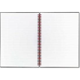 "Black n' Red® Twinwire Hardcover Notebook K67030, 8-1/2"" x 11"", 70 Sheets/Pad"