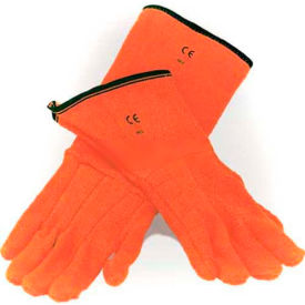 "Bel-Art Clavies Heat Resistant Biohazard Autoclave Gloves 132010001, 11"" Gauntlet, 1 Pair by"