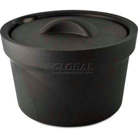 Bel-Art Magic Touch 2 Ice Bucket with Lid 168072002, 2.5 Liter, Black, 1/PK by