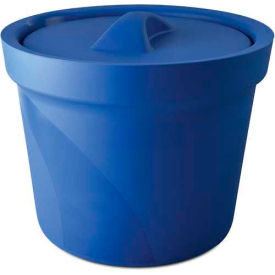 Bel-Art Magic Touch 2 Ice Bucket with Lid 168074001, 4.0 Liter, Blue, 1/PK by