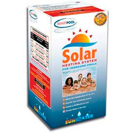 Smart SunHeater Solar Heating System S60 For Ingound Pools 4' x 20'
