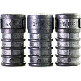 "Lag Screw Shield - 5/8"" x 2"" - Short - Steel - Zinc - Pkg of 25 - Brighton-Best 273050"