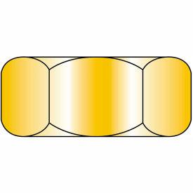 Finished Hex Nut - 5/8-11 - Low Carbon Steel - Zinc CR+3 - UNC - Pkg of 50 - Brighton-Best 319175