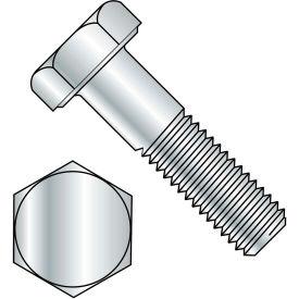 "Hex Bolt - 1/4-20 x 3/4"" - Grade A - Steel - Zinc CR+3 - UNC - FT - A307 - Pkg of 150 - BBI 494003"