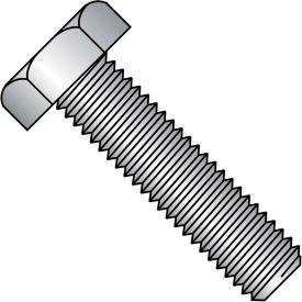 """Hex Tap Bolt - 1/4-20 x 1"""" - Grade A - Low Carbon Steel - Zinc CR+3 - FT - UNC - A307 - Pkg of 100"""