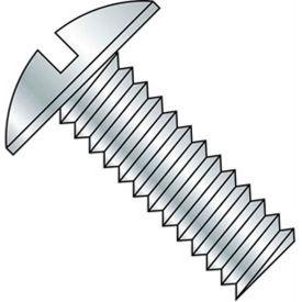 "10-24 x 1"" Machine Screw - Truss Head - Slotted - Steel - Zinc CR+3 - FT - Pkg of 100 - BBI 584431"