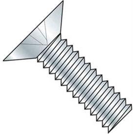 """10-24 x 1-1/2"""" Machine Screw - Flat Head - Phillips - Steel - Zinc CR+3 - FT - 100 Pk - BBI 586447"""