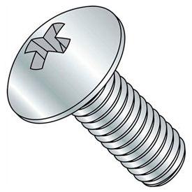 "#10-24 x 5/8"" Machine Screw - Phillips Truss Head - Steel - Zinc - FT - Pkg of 100 - BBI 589419-PR"