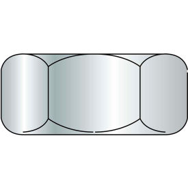 Finished Hex Nut - 3/8-16 - 18-8 (A2) Stainless Steel - UNC - Pkg of 100 - Brighton-Best 762066