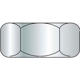 Finished Hex Nut - 3/8-16 - Med. Carbon Steel - Zinc CR+3 - UNC - Grade 5 - Pkg of 100 - BBI 848054