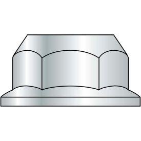 Serrated Hex Flange Nut - 1/4-20 - Zinc CR+3 - Case Hardened Steel - UNC - Pkg of 100 - BBI 857180