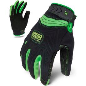 Ironclad® EXO2-NMTW-04-L Motor Winter Embossed Neoprene Gloves, Black/Green, 1 Pair, L