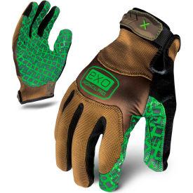 Ironclad® EXO2-PGG-06-XXL Project Grip Gloves Gloves, Brown/Green, 1 Pair, 2XL
