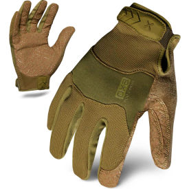 Ironclad® EXOT-GODG-04-L Tactical Operator Gloves, Green, 1 Pair, L