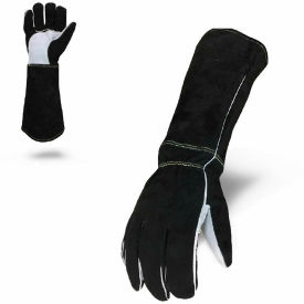Ironclad® WSTK Split Elk/Cowhide Stick Welder Gloves, Cotton Lined, 1 Pair, S, WSTK-02-S
