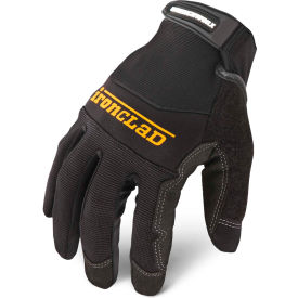Ironclad® WWX2-05-XL Wrenchworx® Microsuede Gloves, Black, 1 Pair, XL