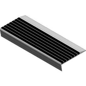 "Babcock-Davis® Stair Tread With Bar Abrasive BSTRB-A5D-48, Extruded Aluminum, 48""W X 5""D"