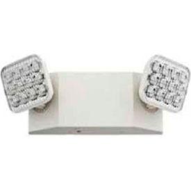 Lithonia EU2 LED M12 2 Head Emergency Unit W/ Adjustable Optics
