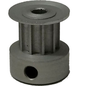 10 Tooth Timing Pulley, (Htd) 3mm Pitch, Clear Anodized Aluminum, 10-3m06-6ca1 - Min Qty 8