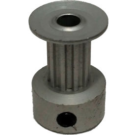 10 Tooth Timing Pulley, (Lt) 0.0816 Pitch, Clear Anodized Aluminum, 10lt312-6ca1 - Min Qty 8