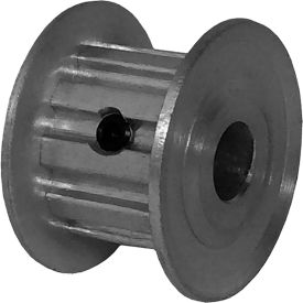 10 Tooth Timing Pulley, (Xl) 5.08mm Pitch, Clear Anodized Aluminum, 10xl037m3fa6 - Min Qty 8