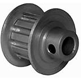 10 Tooth Timing Pulley, (Xl) 5.08mm Pitch, Clear Anodized Aluminum, 10xl037m6fa6 - Min Qty 8