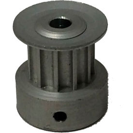 11 Tooth Timing Pulley, (Htd) 3mm Pitch, Clear Anodized Aluminum, 11-3m06m6ca3 - Min Qty 5