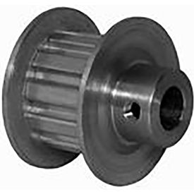 11 Tooth Timing Pulley, (Xl) 5.08mm Pitch, Clear Anodized Aluminum, 11xl037m6fa6 - Min Qty 8